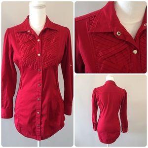 COOGI Long Sleeve red shirt size M